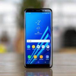 Обновление Samsung Galaxy A8+ на новую версию Android Pie